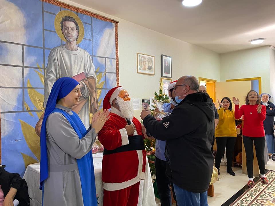 Palestina - Festejos de Navidad en el Taybe