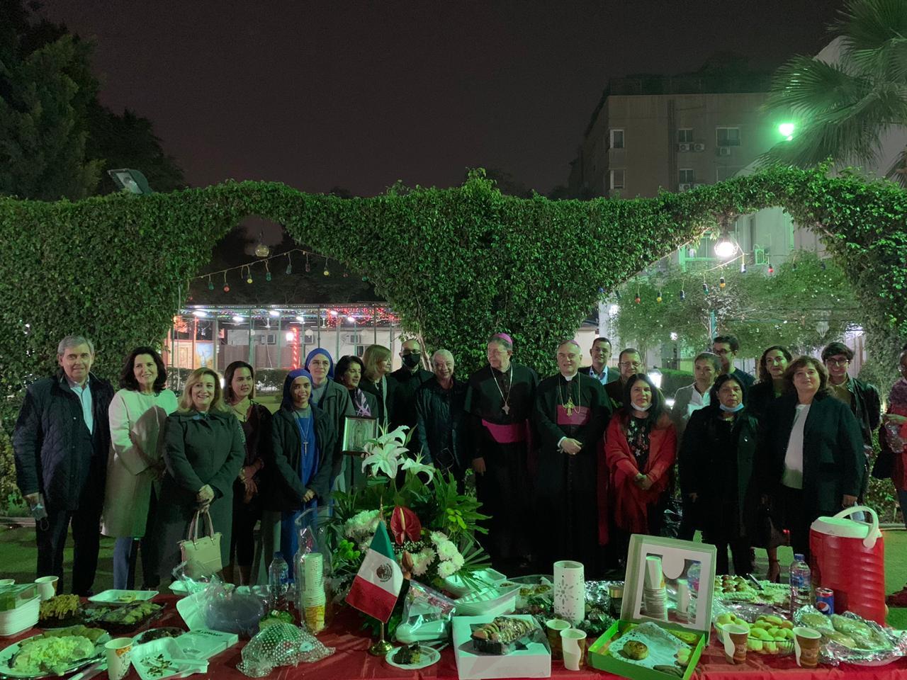 Egipto - Solemnidad de Nuestra Señora de Guadalupe en El Cairo