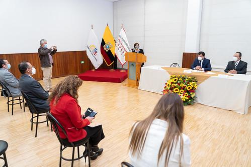 PRESIDENTE DE LA ASAMBLEA NACIONAL, RECIBIÓ UN RECONOCIMIENTO POR PARTE DE ASOSEL (ASOCIACIÓN DE SERVIDORES LEGISLATIVOS). QUITO, 22 DE DICIEMBRE 2020.
