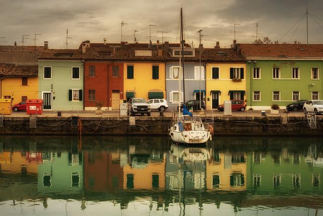 Porto di Pesaro // casette