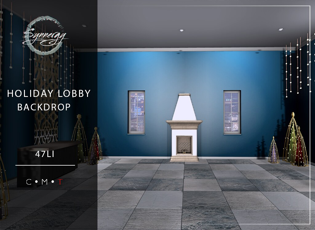 Holiday lobby @ Golden Days Event