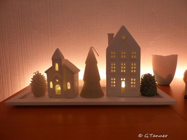 Weihnachtdeko in Haus und Garten