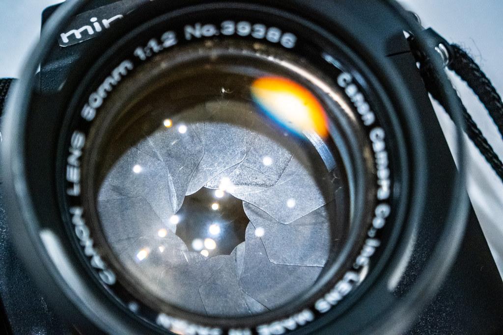 Canon 50mm F1.2 L39