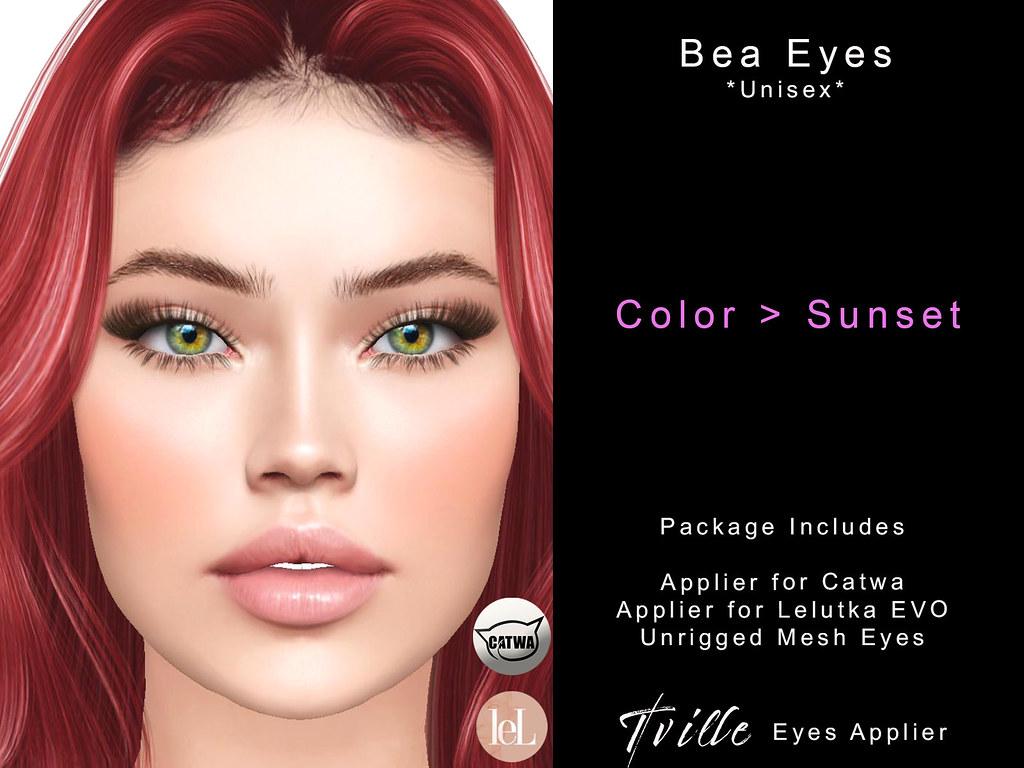 Tville – Bea Eyes *sunset*