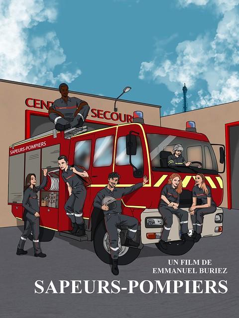 Sapeurs-Pompiers film d'Emmanuel Buriez