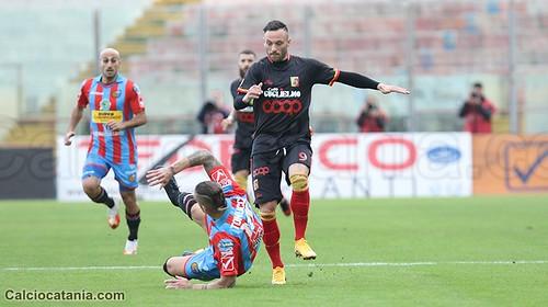 Catania-Catanzaro 1-1: pari raggiunto in extremis, ma grande prestazione$