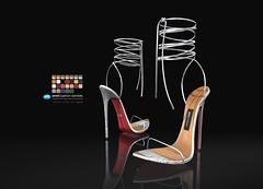 Amel Python Sandals