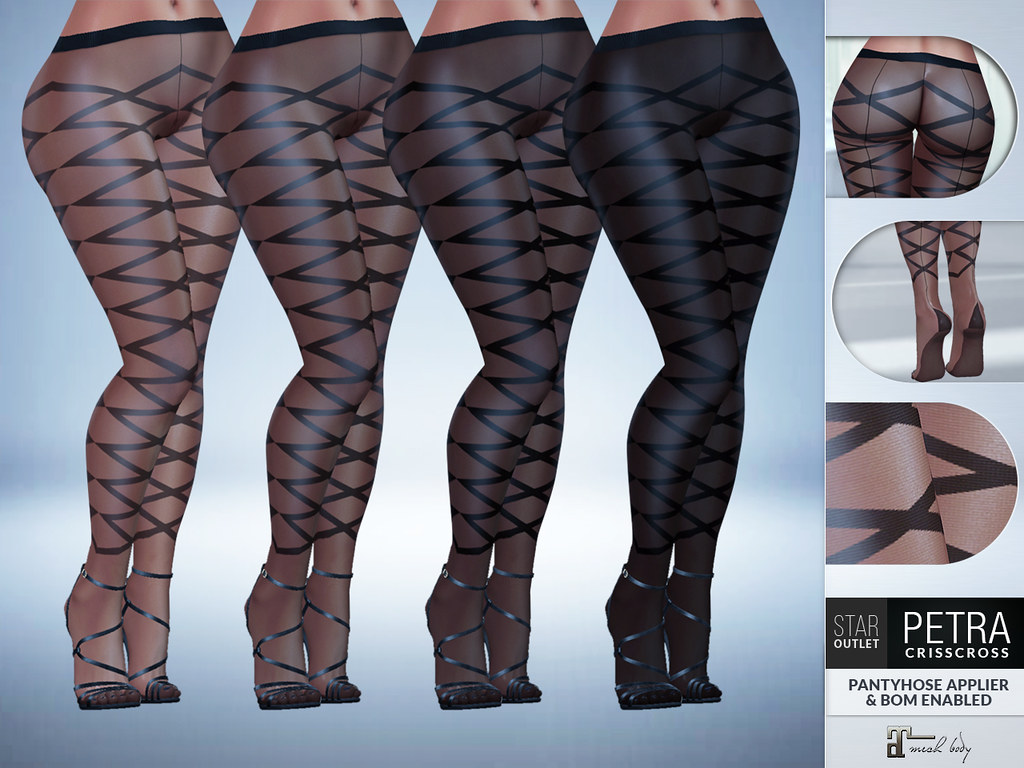 Star Outlet Pantyhose Petra CrissCross – BOM & Maitreya Applier