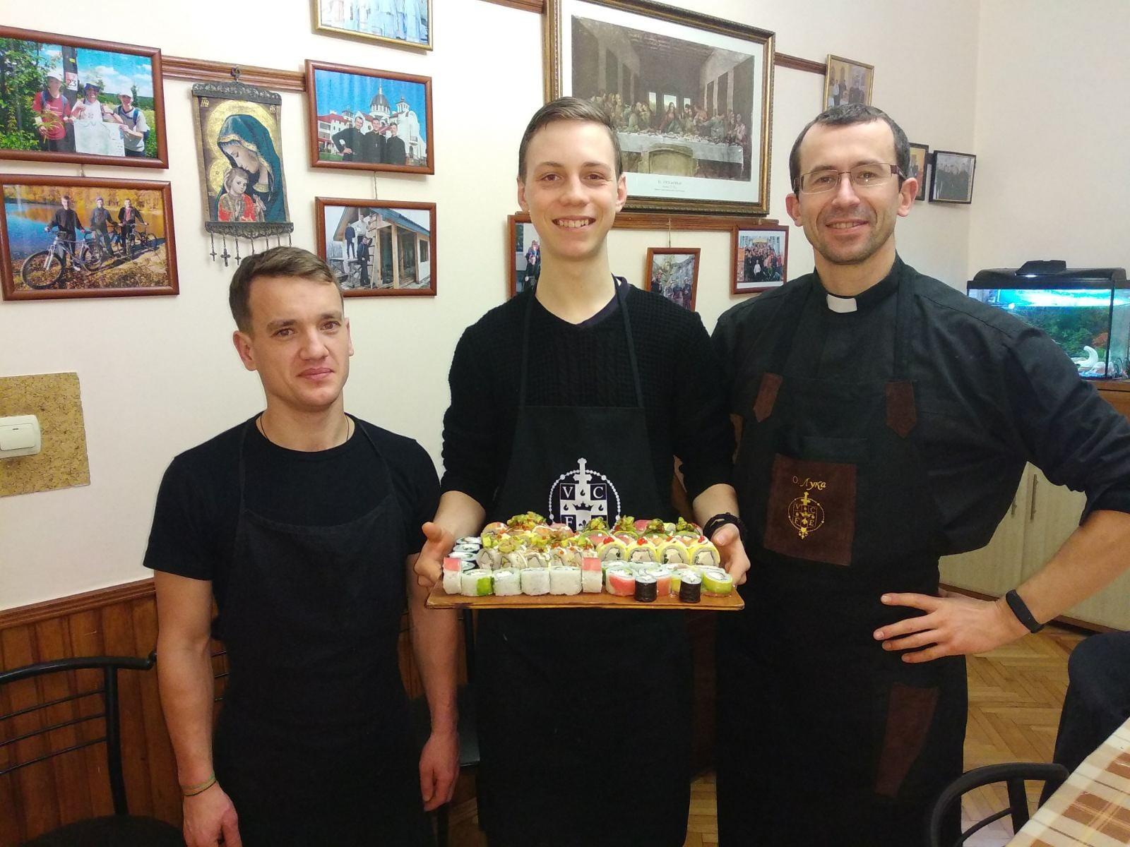 Ucrania – Fiesta de San Nicolás en el Noviciado
