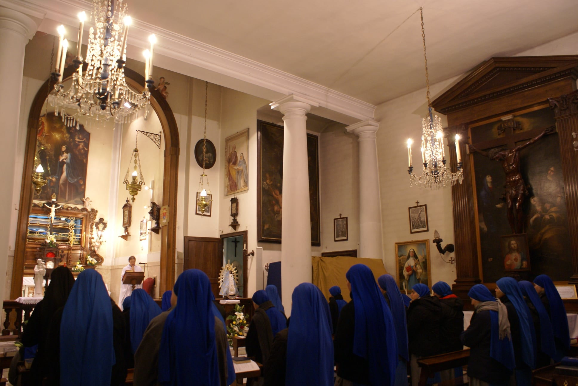 Italia - Fiesta de la Beata Maria Vittoria de Fornari Strata en Génova
