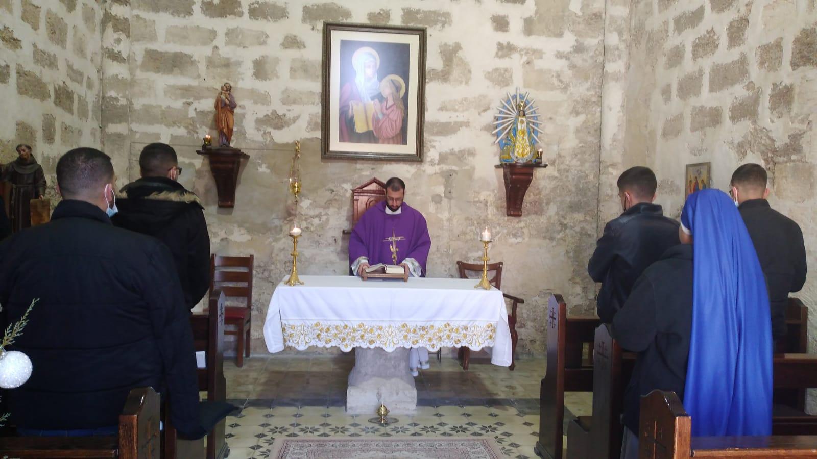 Séforis - Visita del Seminario del Patriarcado Latino