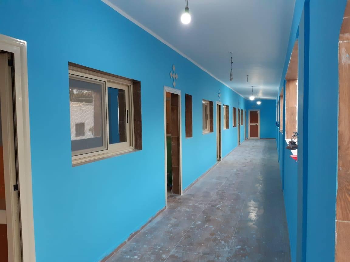 Egipto - Pintamos la casa de los niños discapacitados