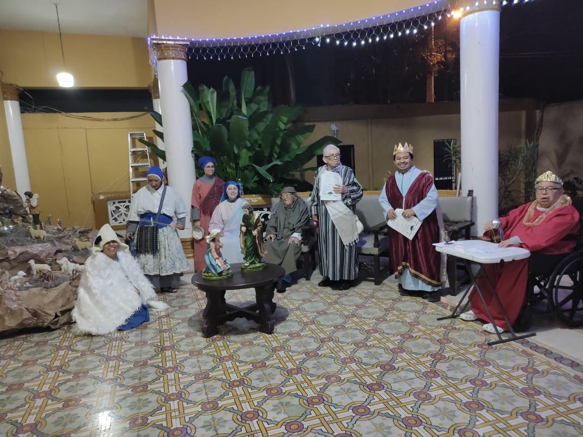 México – Posadas en la casa sacerdotal en Mérida