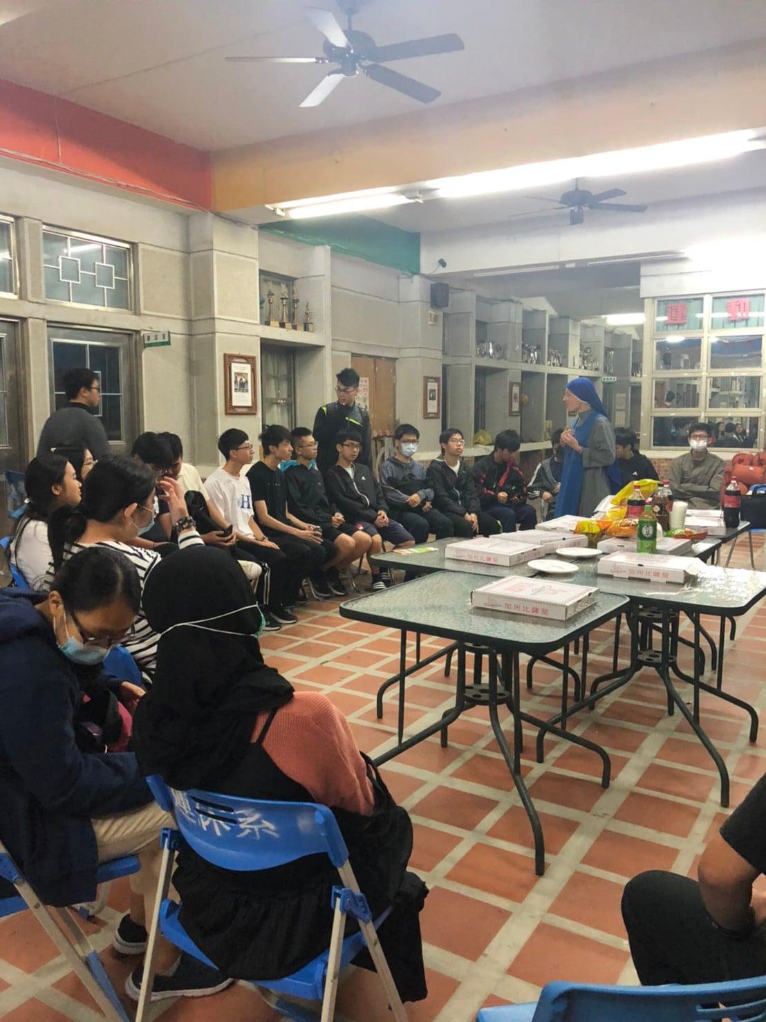 Taiwan - Apostolado con los jóvenes de la Universidad de Jinmen
