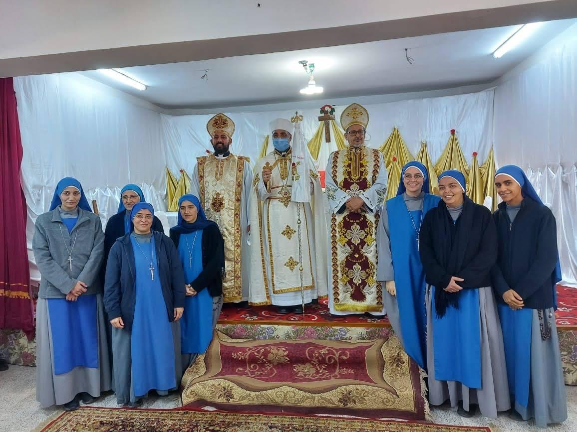 Egipto - Nueva Fundación de las Servidoras en Luxor