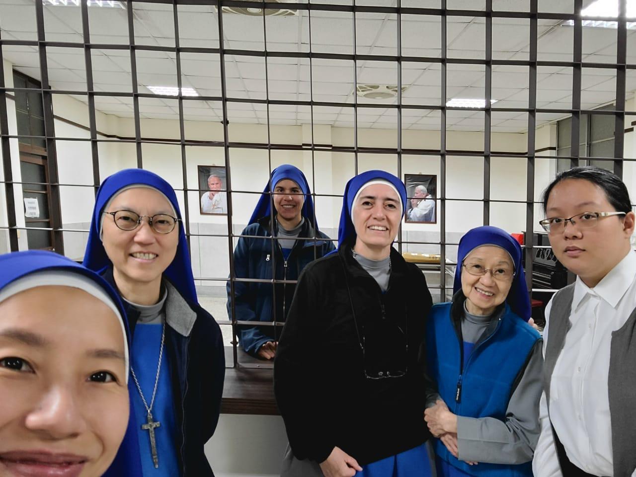 Taiwan - Ingreso al Monasterio de la Hna. Salvacion