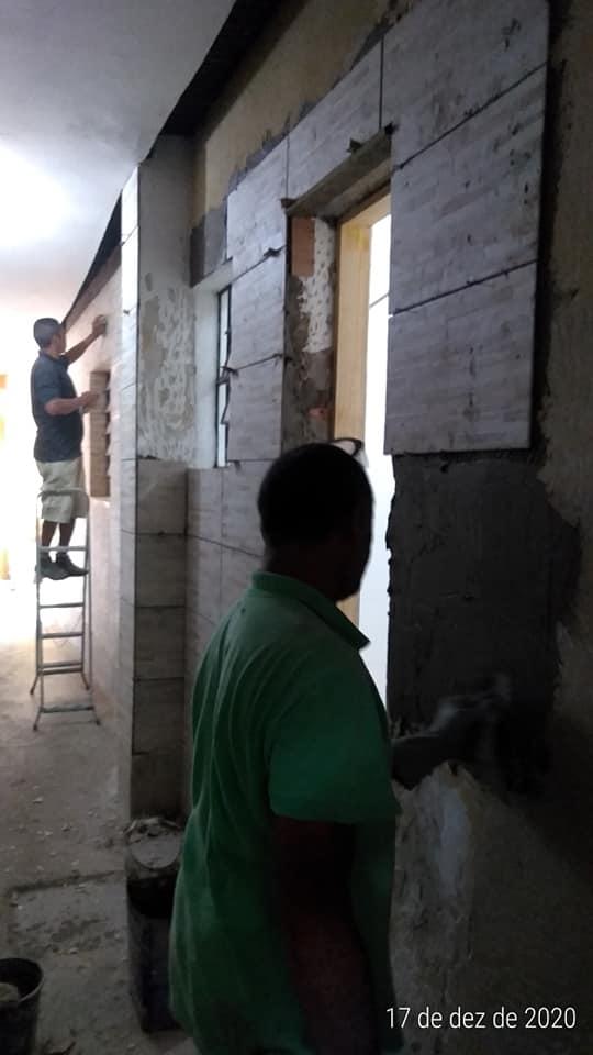 Brasil - Trabajos en la Parroquia del Verbo Encarnado