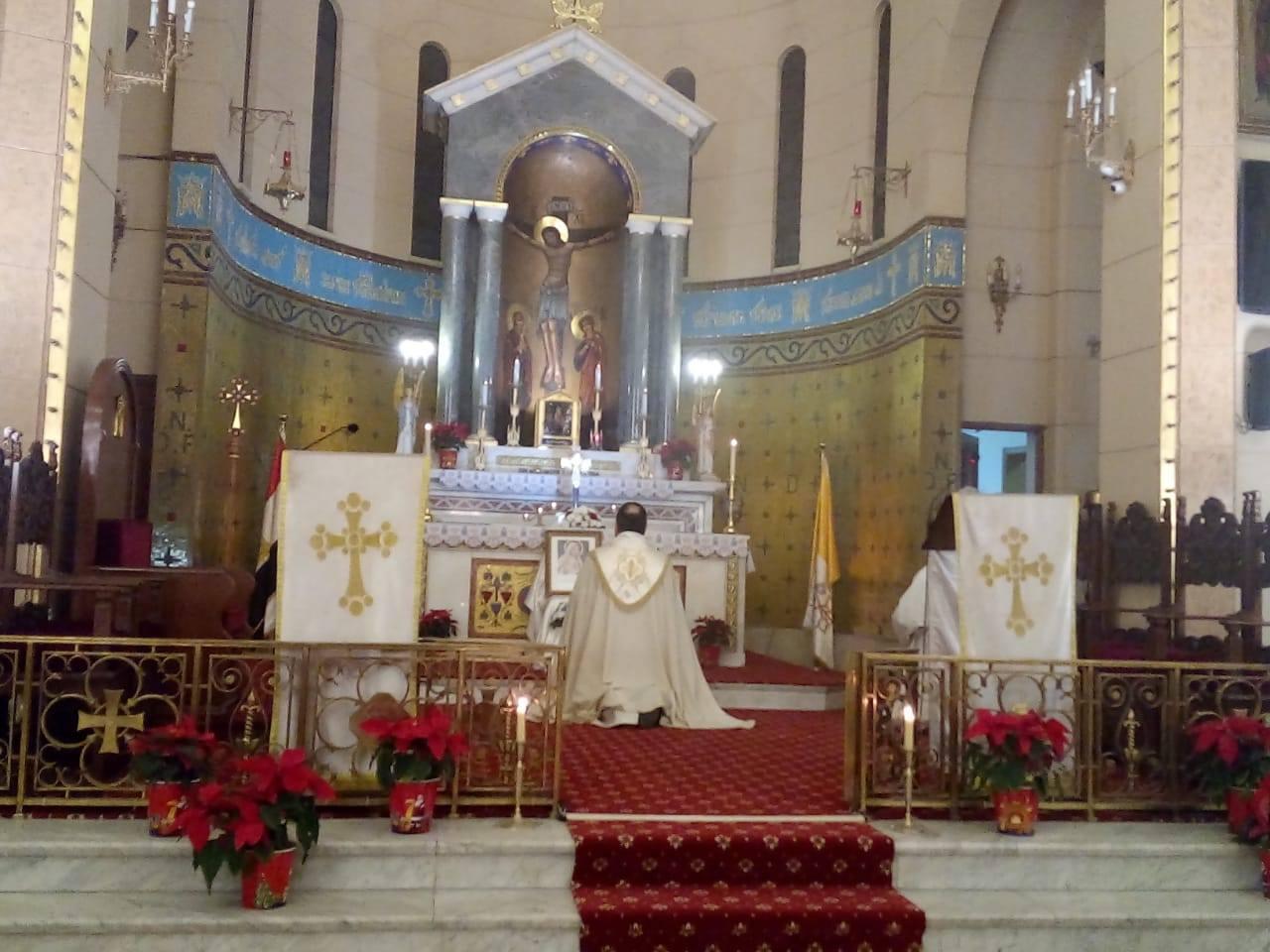 Egipto - Liturgia penitencial en El Cairo