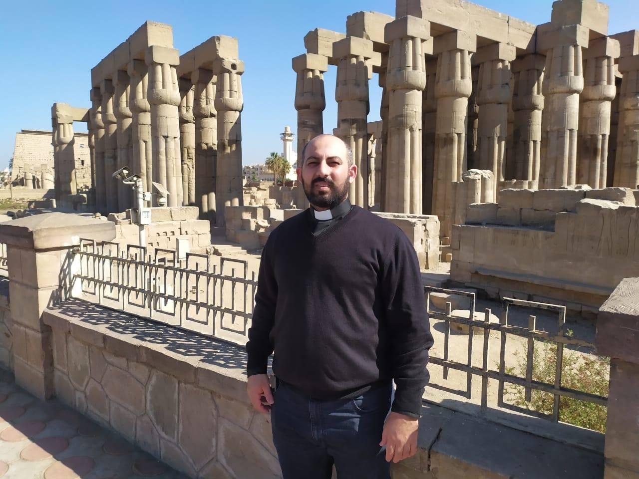 Egipto - Visita a Luxor del P. Pío Abadir