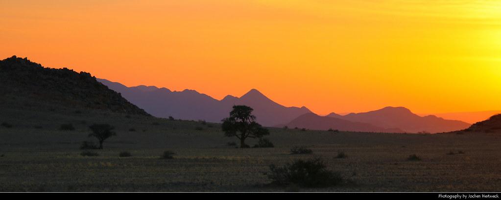 Sunset, Near Sesriem, Namibia