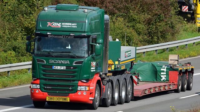 D - Kahl Schwerlast Scania R13 580 TL
