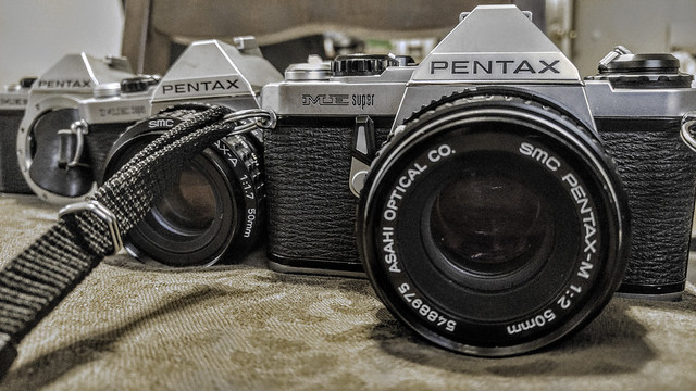Pentax ME Supers