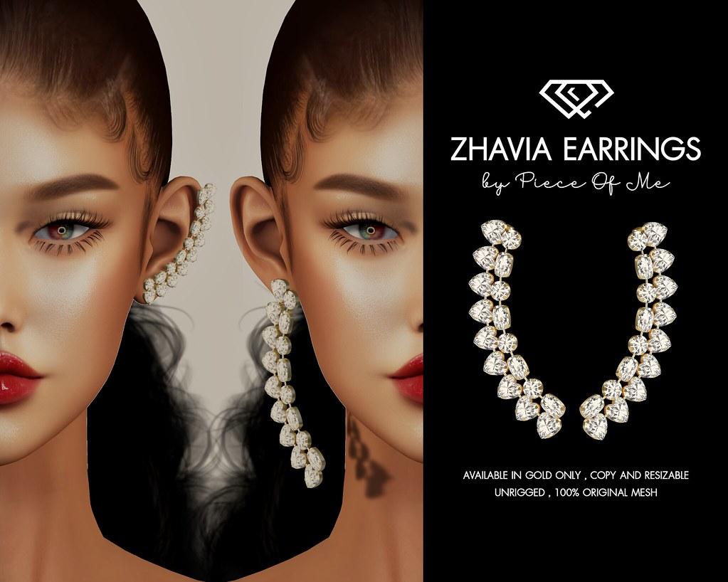 Zhavia Earrings Pack @Mainstore/MP