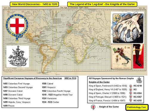 Legend of the Legend - New World Order Discovery 1492 to 1535 | by arthur.strathearn