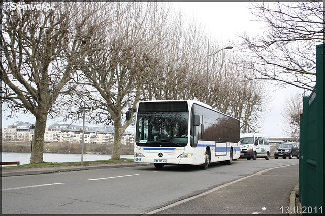 Mercedes-Benz Citaro – Keolis Devillairs / STIF (Syndicat des Transports d'Île-de-France) – Transilien SNCF n°810
