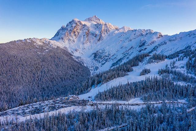 Mount Shuksan and Ski Area