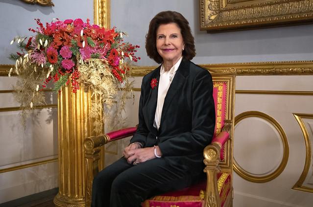 77e verjaardag Koningin Silvia van Zweden
