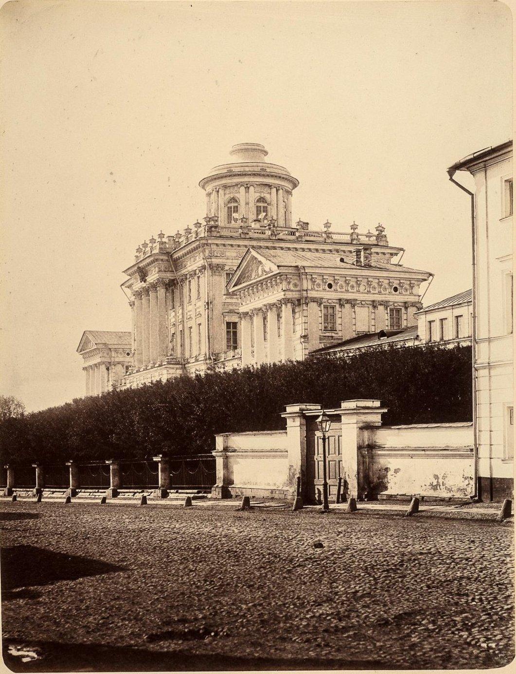Московский публичный и Румянцевский музей (Дом Пашкова)