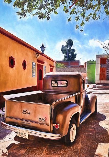# 34.  Beautiful Oaxaca City.