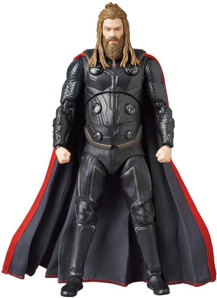 MAFEX《復仇者聯盟:終局之戰》索爾 6吋可動人偶 胖雷神力量全開!