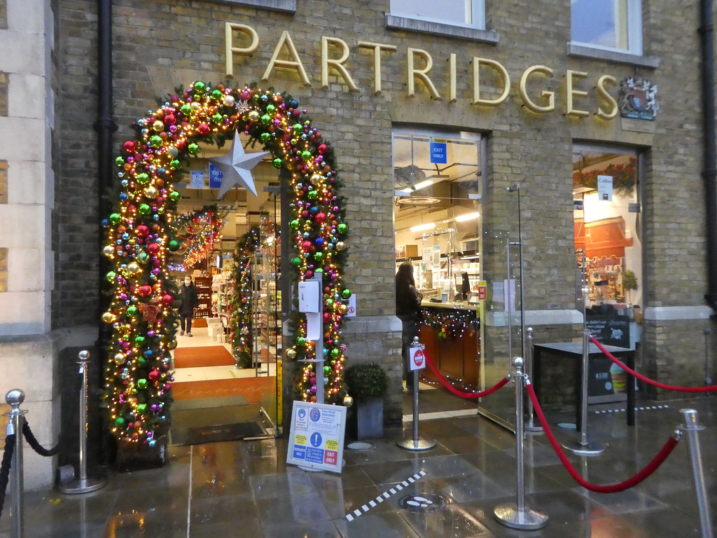 Partridges grocers, Sloane Square
