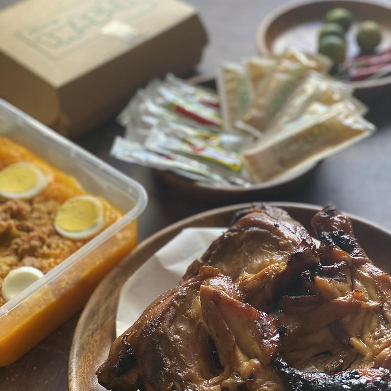 Mang Inasal Chicken + Palabok Platter
