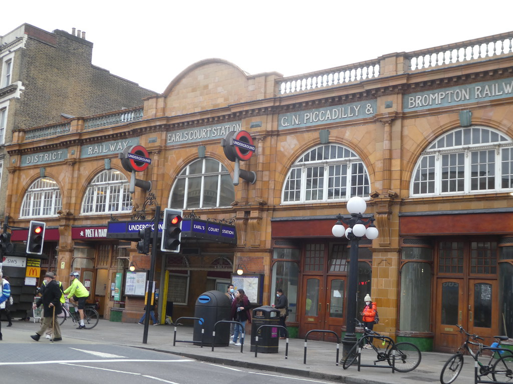 Earls Court Underground Station, London