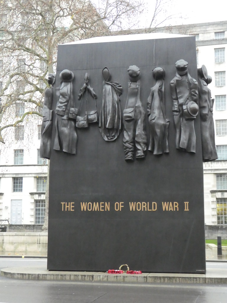 The Women of World War II Memorial, Whitehall