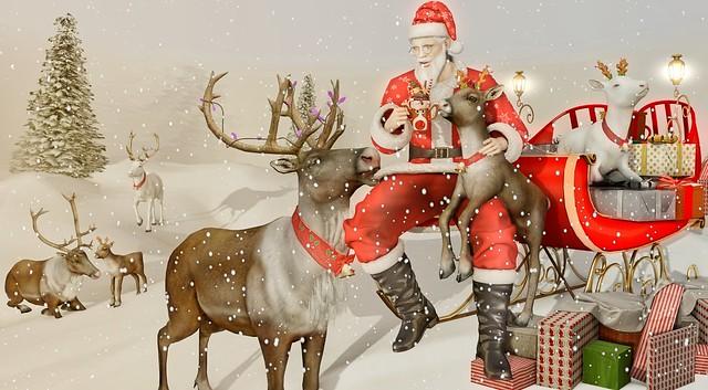 Snowin' and blowin' up bushels of fun, now the jingle hop has begun🐺🎧