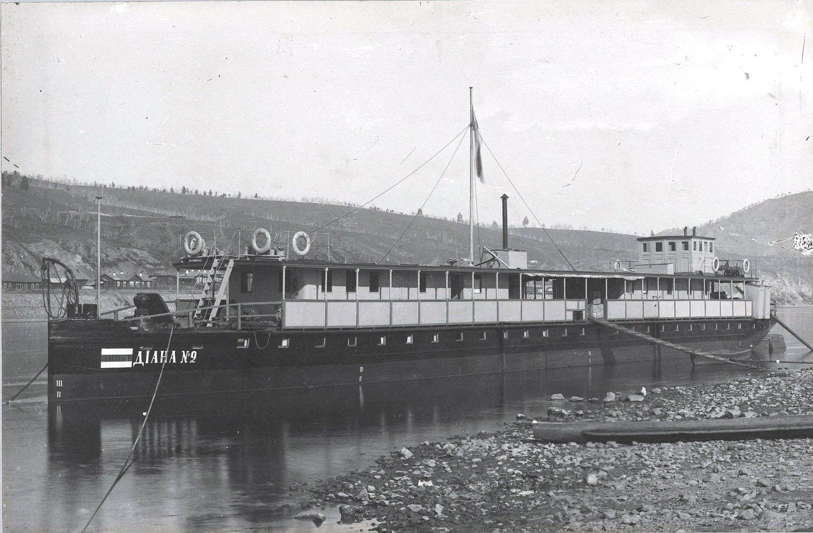 179. «Диана», баржа для пассажиров