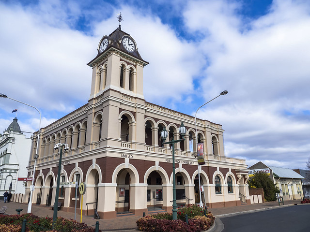 Forbes NSW - Heritage Post office and Town Clocktower - see below