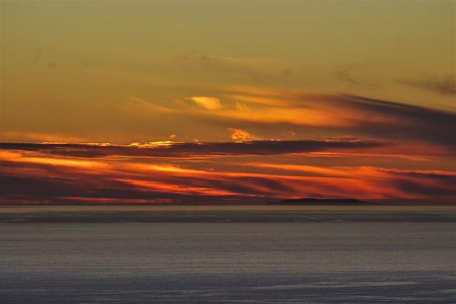 Winter Solstice Sunset 2020