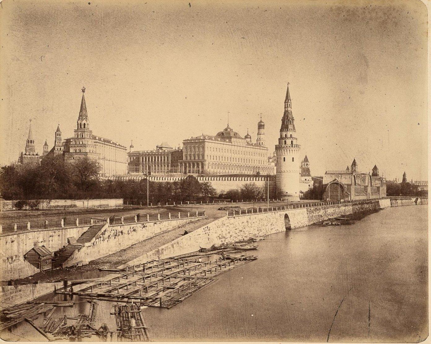 Общий вид Кремля