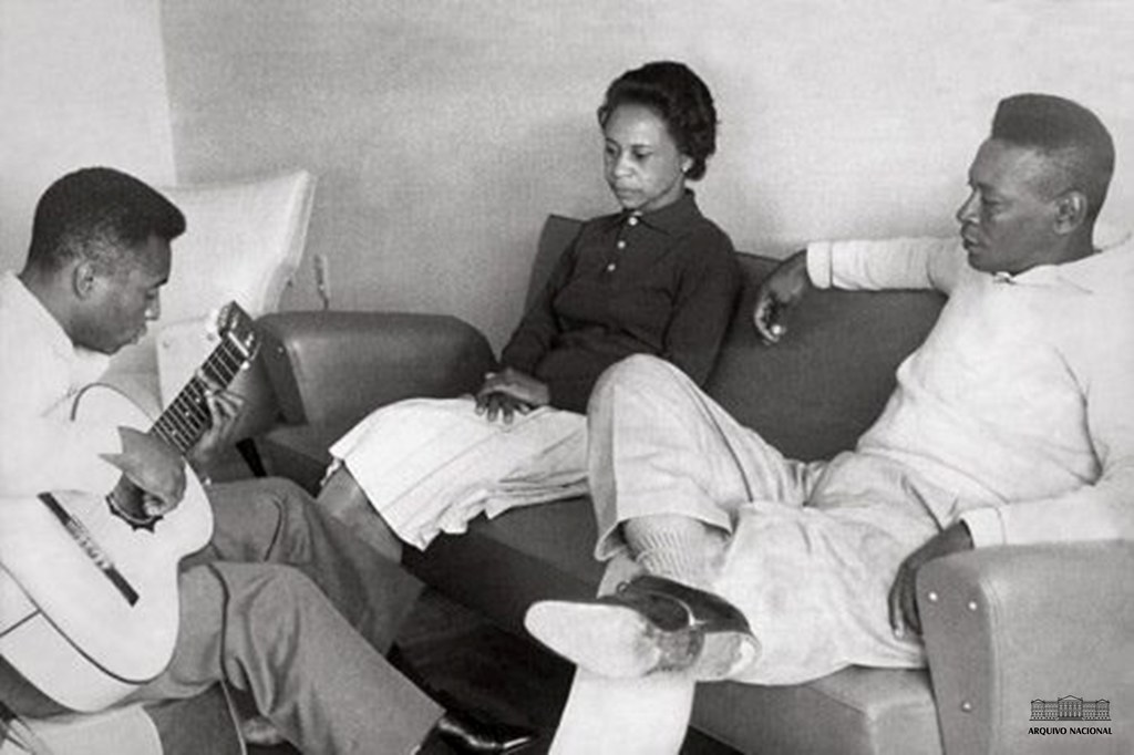 Pelé em família, 1964