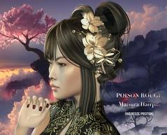 POISON ROUGE Matsura Hairpin