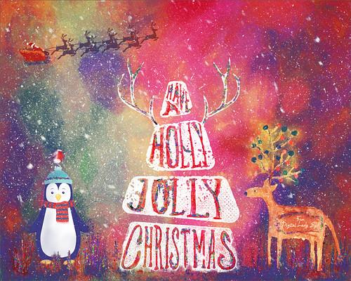 Image of a Christmas Holiday scene