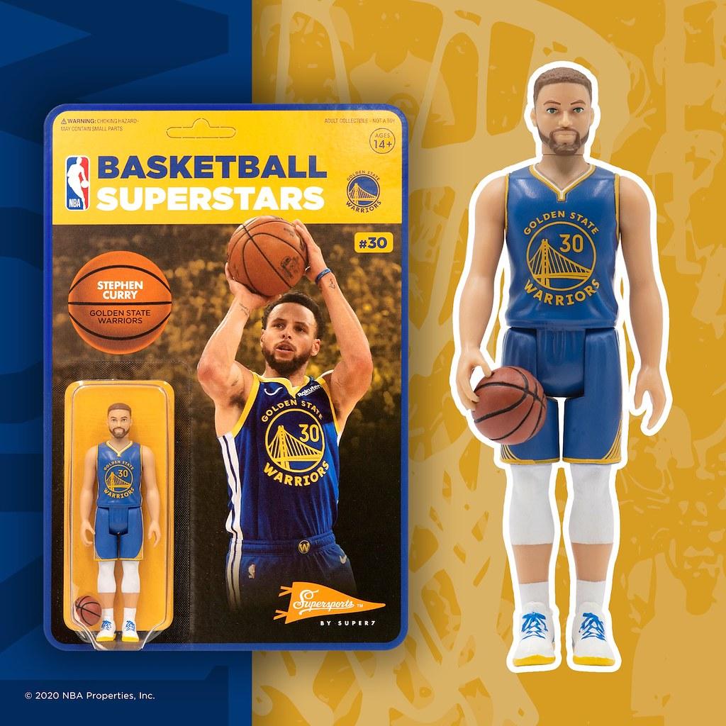 Super7 ReAction Figures系列將推出 NBA 明星球員吊卡玩具!第一波四款新作發表