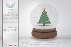 [Ari-Pari] 2020 Snow Globe - Merry Christmas