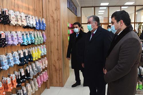 Ифтитоҳи як қатор иншооти саноатӣ дар шаҳри Душанбе  24.12.2020