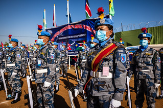 Nepal FPU Medal Parade | by UNMISS MEDIA
